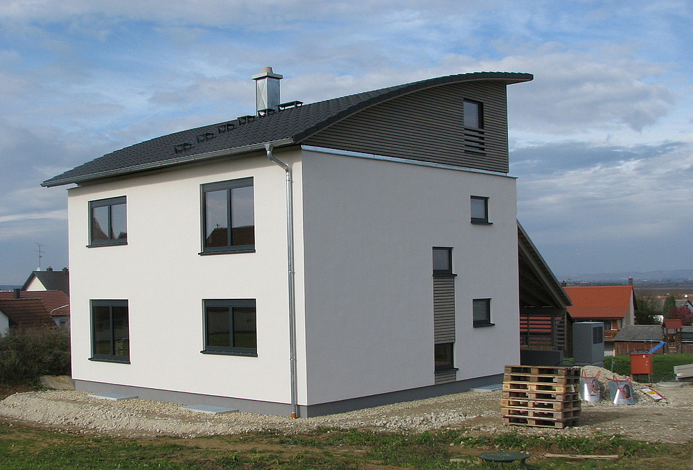 Casa in legno regensburg germania - Casa in germania ...